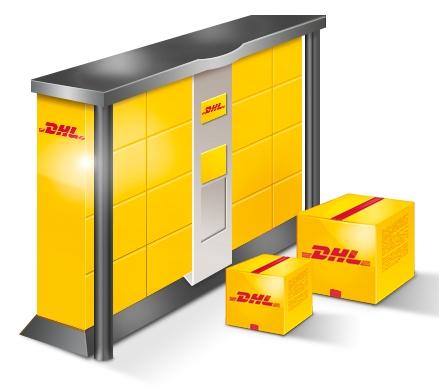 Versand mit DHL, auch an Packstationen und Postfilialen